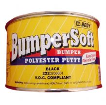 Bumper Polyester Putty 250 GR (Black)